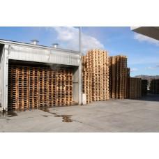 Конвективные камеры для фитосанитарной обработки древесины, серии PALLET LINE, Италия