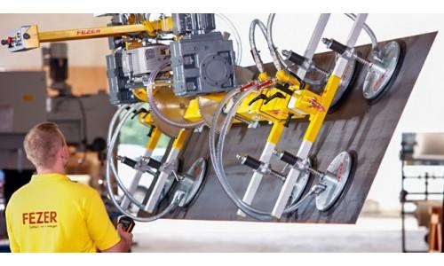 Вакуумные подъемные устройства производства компании FEZER, Германия