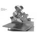 Торцовочный станок (консольная пила) для резки древесины, алюминия и других материалов ZS200N.